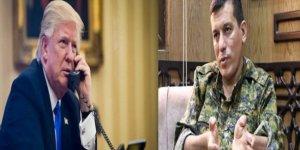 Trump HSD Komutanı Mazlum Kobani'yle telefonla görüştü