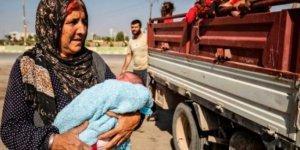 Suriye İnsan Hakları Gözlemevi: Rojava'da 300 bin kişi göç etti