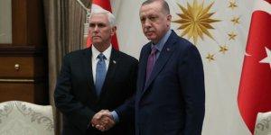 Pence ve Cumhurbaşkanı Erdoğan'ın görüşmesi başladı
