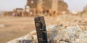 Diyarbakır'da Asur dönemine ait 3 bin yıllık mühür bulundu