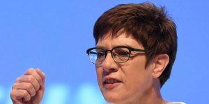 Almanya'dan yeni 'uluslararası güvenli bölge' önerisi