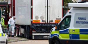 'TIR'da cesetleri bulunan 39 kişi, Çin vatandaşı'