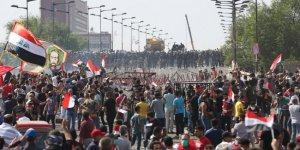 Bağdat'ta gösteriler yeniden başladı