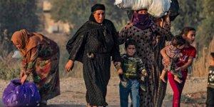 BM: Türkiye 30 bin Suriyeli mülteciyi Gre Spi, Ayn İsa'ya yerleştirdi