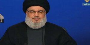 Hizbullah Lideri Nasrallah'tan Hariri Açıklaması