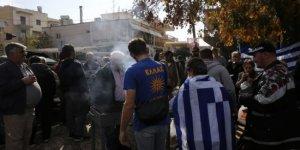 Müslüman göçmenlere karşı iğrenç protesto