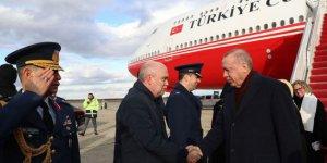 Erdoğan Washington'a ulaştı