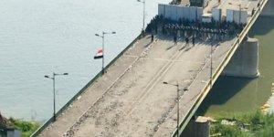 Irak'ta göstericilerin elindeki 'Ehrar' köprüsü kontrol altına alındı