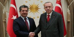 Barzani ve Erdoğan görüştü