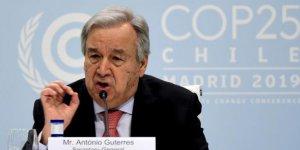 Guterres:İklim değişikliğinde dönüşü olmayan bir noktaya doğru ilerliyoruz