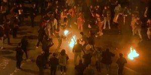 Lübnan'da gösterici kendini ateşe verdi!