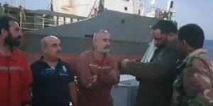 Hafter'in ordusundan Türkiye mürettebatlı gemiye müdahale