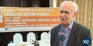 Burkay: Kürtlerin hakları tanınmalı