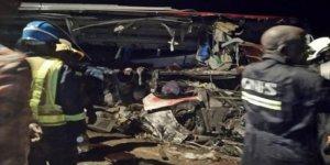 Trafik kazası: 34 ölü