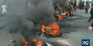 SÜRE DOLDU - Bağdat'ta anayollar kapatıldı