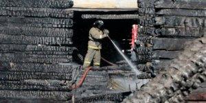 Evde yangın çıktı:11 ölü