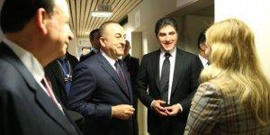 Çavuşoğlu, Başkan Neçirvan Barzani görüştü