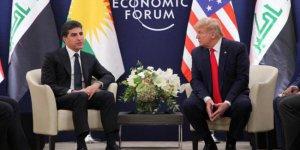 Barzani ile Trump Davos'ta görüştü