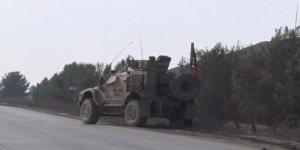 ABD güçleri ve DSG'den devriye