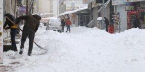 Van'da kar yağışı hayatı felç etti: 9 kişi hastanelik oldu