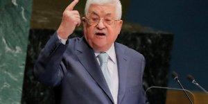 Abbas: Trump'ın Yüzyılın Anlaşması planını reddediyorum