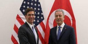 Akar, NATO Karargahı'nda ABD'li Esper ile görüştü