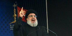 Nasrallah: 'Yüzyılın Anlaşması' Lübnan topraklarını hedefliyor