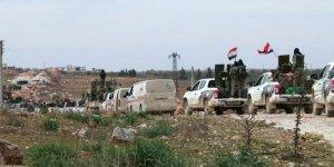 Rejim güçleri Halep'in batısında ilerliyor
