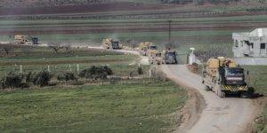TSK'dan İdlib'e 150 araçlık sevkiyat