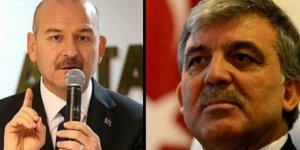 Abdullah Gül'den Süleyman Soylu çıkışı
