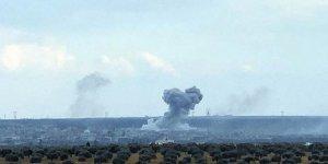 TSK Halep'teki askeri havaalanını vurdu