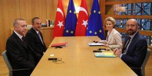 Erdoğan'ın Brüksel'deki toplantıyı terk ettiği iddia edildi