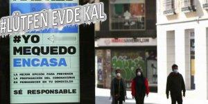 İspanya'da son 24 saatte koronavirüsten 394 kişi öldü