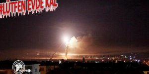 Siyonist İsrail Suriye Hava Üssüne Saldırdı