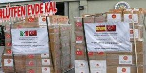 Türkiye, İtalya ve İspanya'ya tıbbi yardım gönderdi