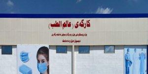 Erbil'de maske fabrikası açılıyor: Aylık 10 milyon üretecek