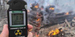 Çernobil'de orman yangını: Radyasyon seviyesi 16 kat arttı