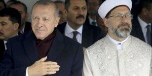Cumhurbaşkanı Erdoğan'dan, Diyanet İşleri Başkanı Ali Erbaş'a destek