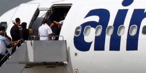 BAE'deki Lübnanlı gurbetçileri taşıyan uçağa Filistinli mülteci alınmadı