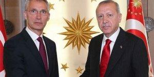 Erdoğan ile Stoltenberg ile Suriye ve Libya'yı görüştü
