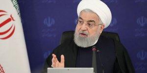 Ruhani: ABD 83 milyon İranlının sağlığını rehin aldı