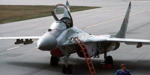 Rusya'dan Suriye'ye MiG-29 savaş uçağı
