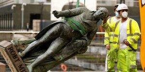 Köle taciri Robert Milligan'ın Londra'daki heykeli söküldü