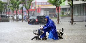 Çin'deki şiddetli yağış ve seller nedeniyle 228 bin kişi tahliye edildi