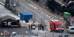 Fransa'da nükleer denizaltında yangın