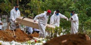 Brezilya'da son 24 saatte 1238 kişi hayatını kaybetti