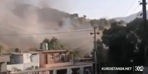 Süleymaniye kırsalında bombardıman