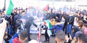 80 Şehirde Siyonistlerin Batı Şeria'yı İşgal Etme Planına Karşı Protesto Düzenleniyor