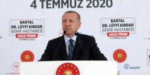 Erdoğan: Türkiye'yi üç kıtanın sağlık merkezi yapmakta kararlıyız