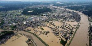 Japonya'daki sel felaketi: 16 kişi hayatını kaybetti, 13 kişi kayıp